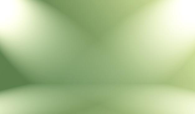 Абстрактный размытие пустой зеленый градиент фона