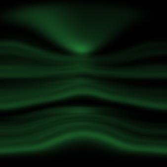 Sfuocatura astratta vuota gradiente verde studio ben utilizzare come sfondo, modello di sito web, cornice, relazione aziendale.