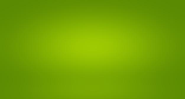 Абстрактное размытие пустой зеленый градиент studio хорошо использовать в качестве фона, шаблона веб-сайта, рамки, бизнес-отчета.