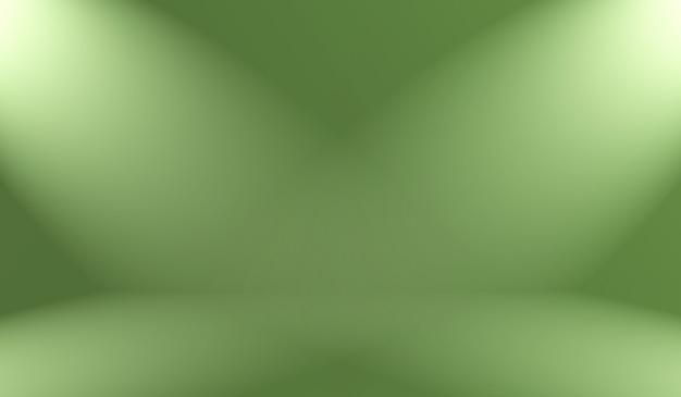 추상 흐림 빈 녹색 그라데이션 스튜디오는 배경, 웹사이트 템플릿, 프레임, 비즈니스 보고서로 잘 사용됩니다.