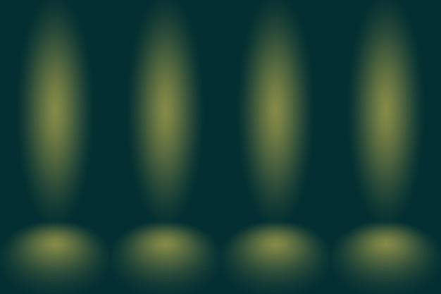 Абстрактное размытие пустой зеленый градиент studio хорошо использовать в качестве фона, шаблона веб-сайта, рамки, бизнес-отчета