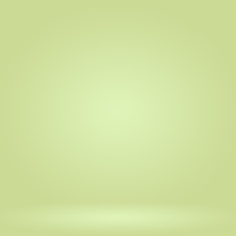 Abstract blur empty green gradient studio well use as background