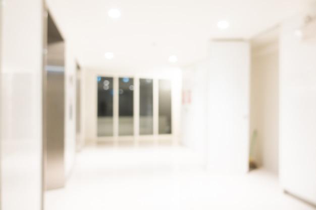 Абстрактный размытый интерьер отеля и лобби