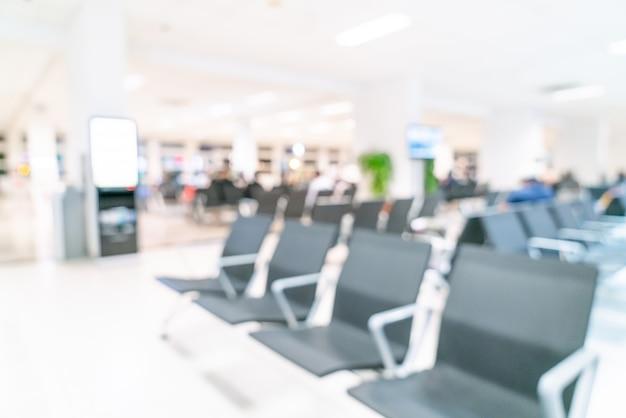 Абстрактный размытие в аэропорту для фона