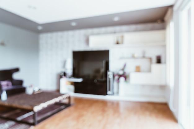 Абстрактное размытие в гостиной