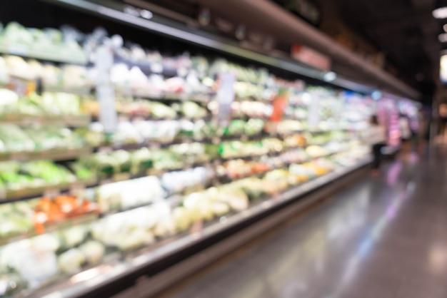 추상 흐림 슈퍼마켓 무료 사진
