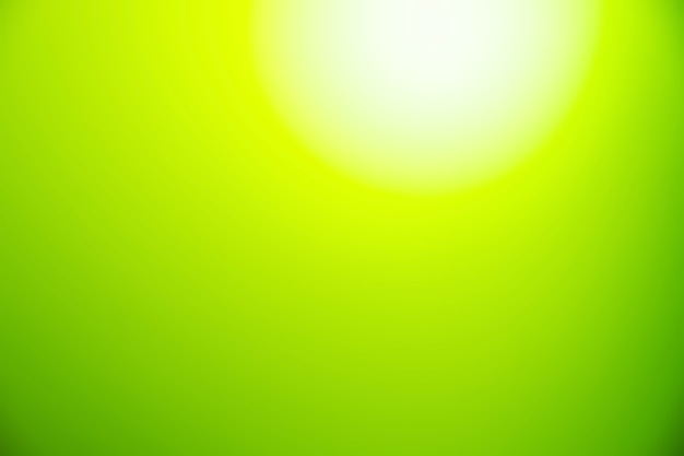 Abstract blur light gradient green and white soft pastel color wallpaper background.