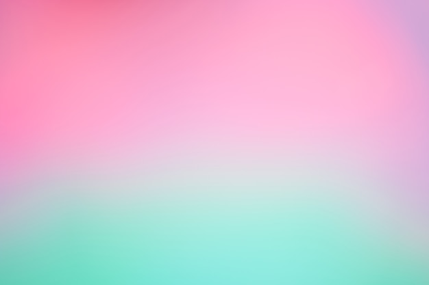 Abstract blur light gradient  purple and green soft pastel color wallpaper background.