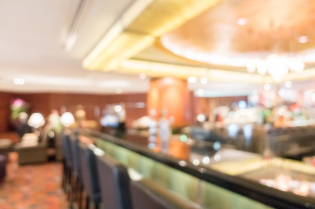 Abstract blur lobby