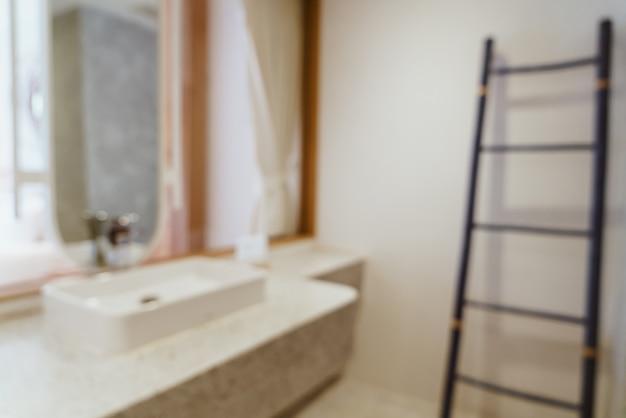 추상 흐림 럭셔리 욕실