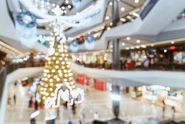 Абстрактный размытие роскошный торговый центр и розничный магазин для фона