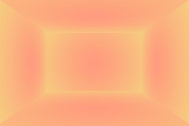 배너, 슬라이드 쇼 또는 기타 디자인을 위한 파스텔 아름다운 복숭아 분홍색 하늘 따뜻한 색조 배경의 추상적 흐림.
