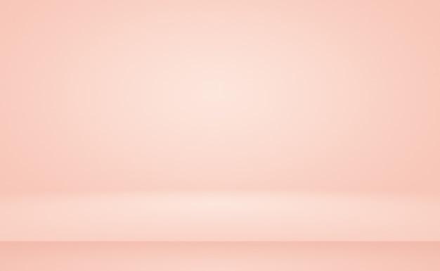 Абстрактное размытие пастельного красивого персикового розового цвета неба теплого тона фона для дизайна в качестве баннера, слайд-шоу или других