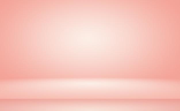배너슬라이드로 디자인을 위한 파스텔 아름다운 복숭아 분홍색 하늘 따뜻한 색조 배경의 추상 흐림...