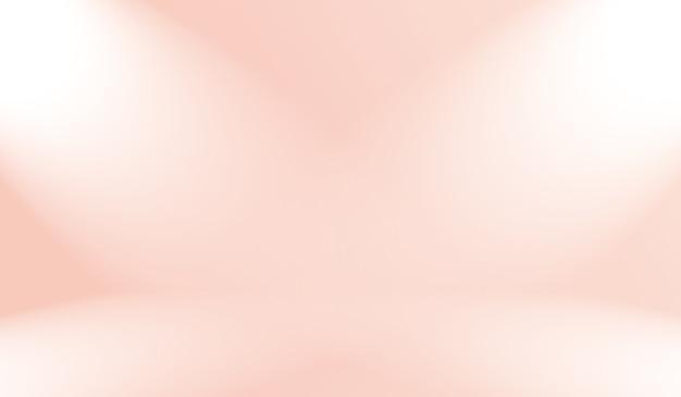 파스텔 아름다운 복숭아 핑크 색상 하늘 따뜻한 톤 배경의 추상 흐림
