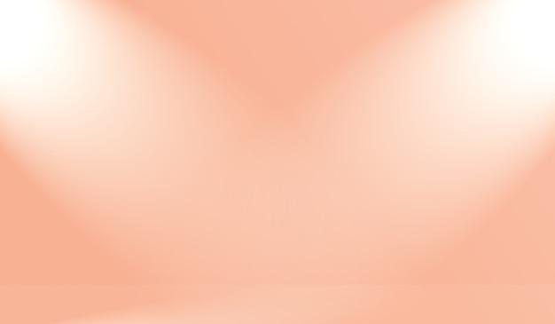 Sfocatura astratta di uno sfondo dai toni caldi del cielo color rosa pesca pastello bellissimo per il design come banner, presentazione o altri