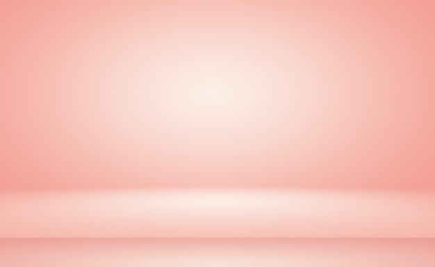 Abstract blur of pastel beautiful peach pink color sky warm tone background for design as bannerslid...