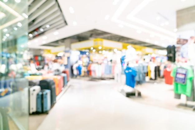 Абстрактный размытие магазин и розничный магазин в торговом центре для фона