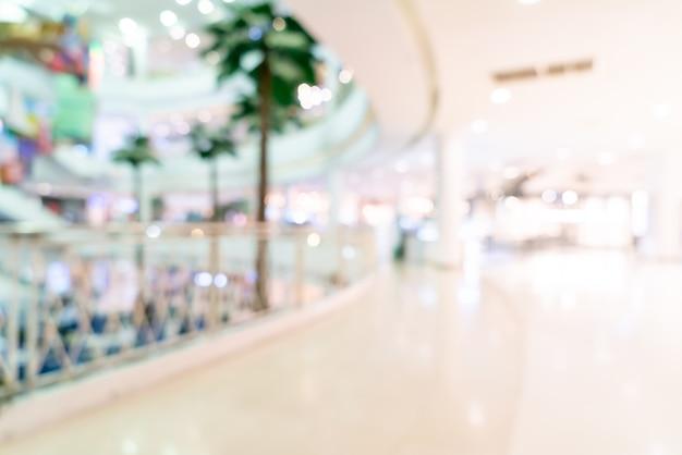 추상 흐림 상점 및 쇼핑몰에 소매점