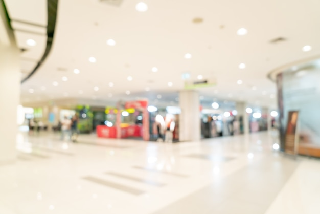 추상 흐림 쇼핑몰 및 소매점 배경