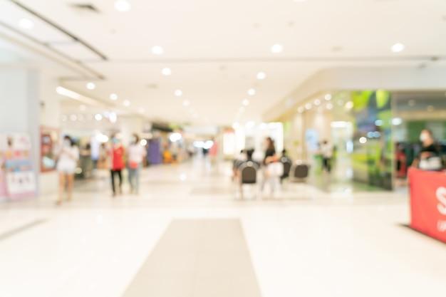 추상 흐림 쇼핑몰 및 소매점