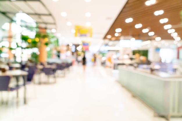 Абстрактный размытие торговый центр для фона
