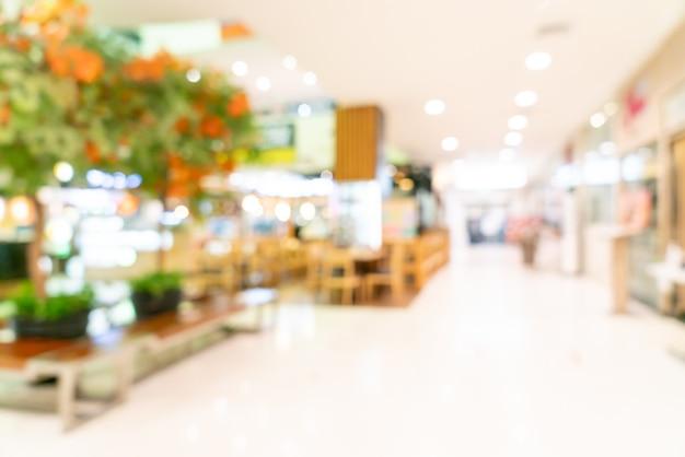 배경에 대 한 추상 흐림 쇼핑몰