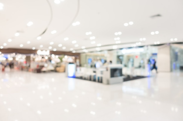 Абстрактные размытия торговый центр