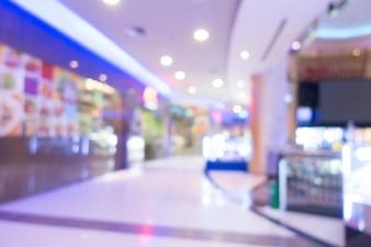 Абстрактный размытый торговый центр