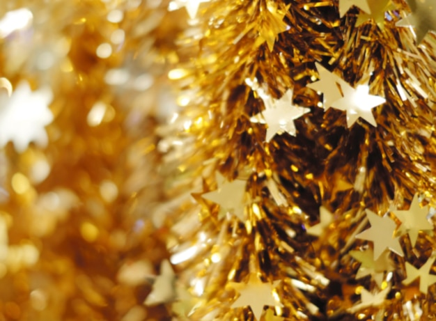 Абстрактный размытый фон рождественские украшения