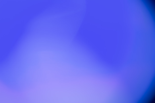 Abstract blurred background with blue lights