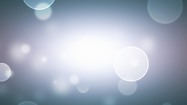 Abstract blurred background with soft light bokeh effect