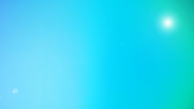 Abstract blurred flare lighting and gradient background.mint green color background. banner template. mesh backdrop with pastel sweet color.