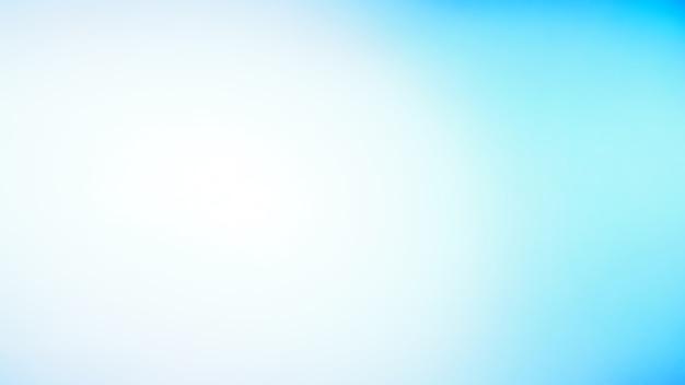 Абстрактный размытый фон градиента. монотонный цвет синий или небесно-голубой фон. шаблон баннера.