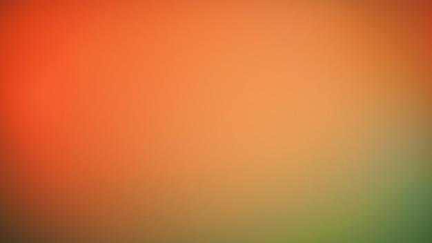 抽象的なぼやけたグラデーションの背景。マルチカラーの濃いオレンジ色の赤と緑の色の背景。バナーテンプレート。