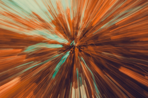 Abstract blurred landscape with movement effect, for a speed motion