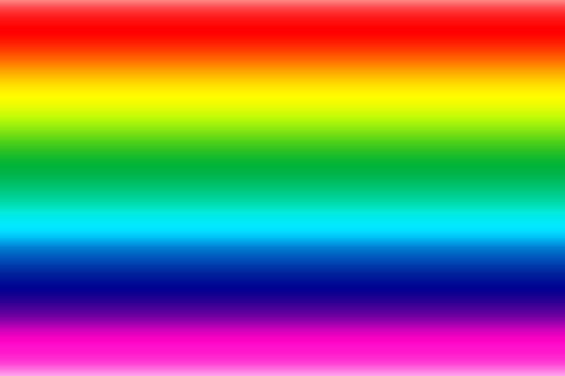 抽象的なぼやけた虹の色とりどりのグラデーション
