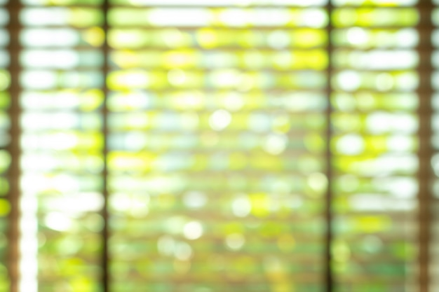 Abstract blurred window.