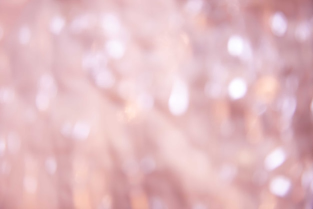 Abstract blurry soft pink bokeh sparkle nature background