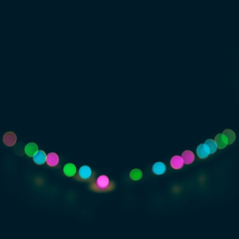 Abstract bokeh background for christmas