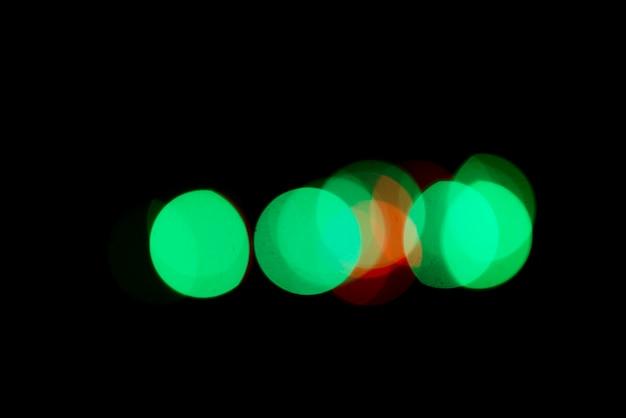 カラフルなライトと抽象的なbokehの背景