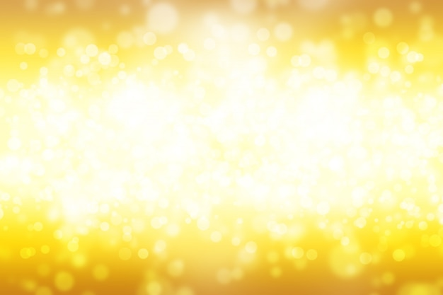 Abstract bokeh background yellow white gradient linear