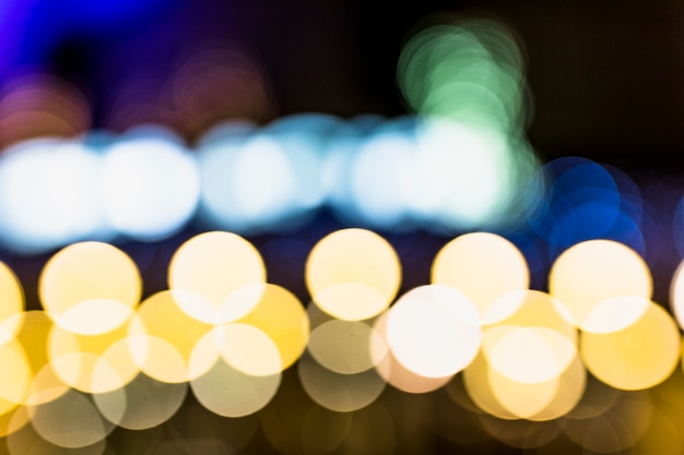 Abstract of bokeh light background