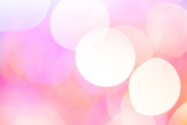 Abstract bokeh light. peach rose color.