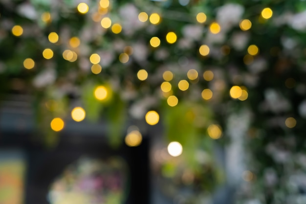 Abstract bokeh lights with soft light background. blur wall. defocused background