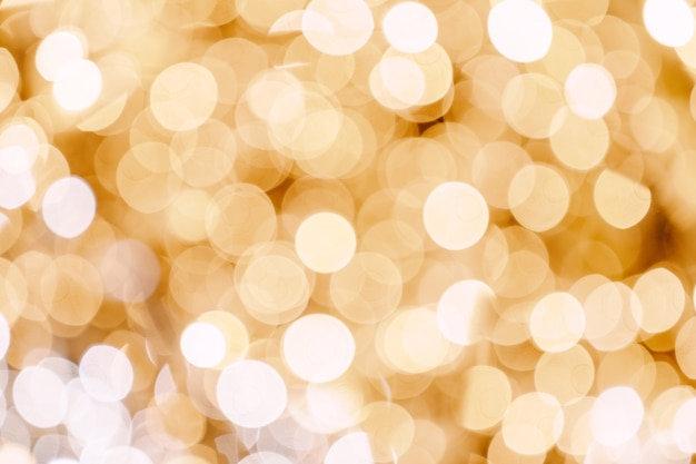 Abstract bokeh lights with soft light background lights of garland