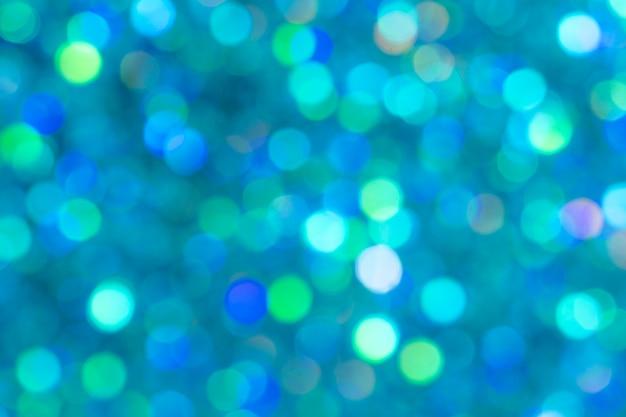 抽象的な明るい青のボケ味の背景