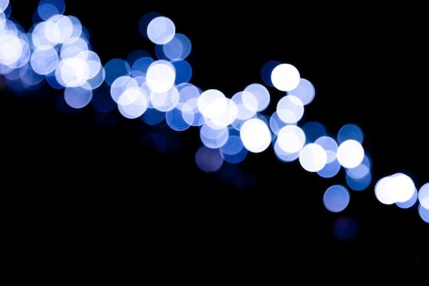 Abstract bright bokeh lights