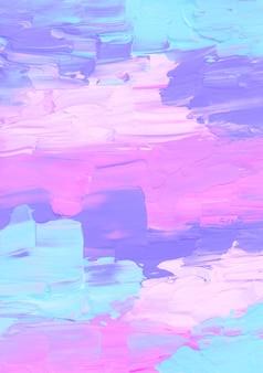 Абстрактный ярко-розовый, синий, фиолетовый и белый текстурированный фон