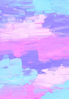 Abstract bright pink, blue, purple and white textured background